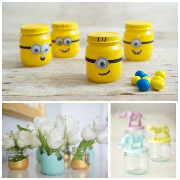 20 Baby Food Jar Crafts
