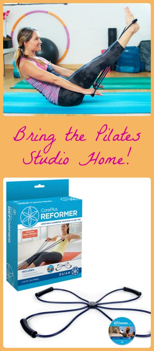 Sponsored: You don't have to belong to a fancy studio; you can get a great Pilates workout at home!