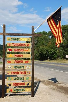 old time country fruit stand - Google Search