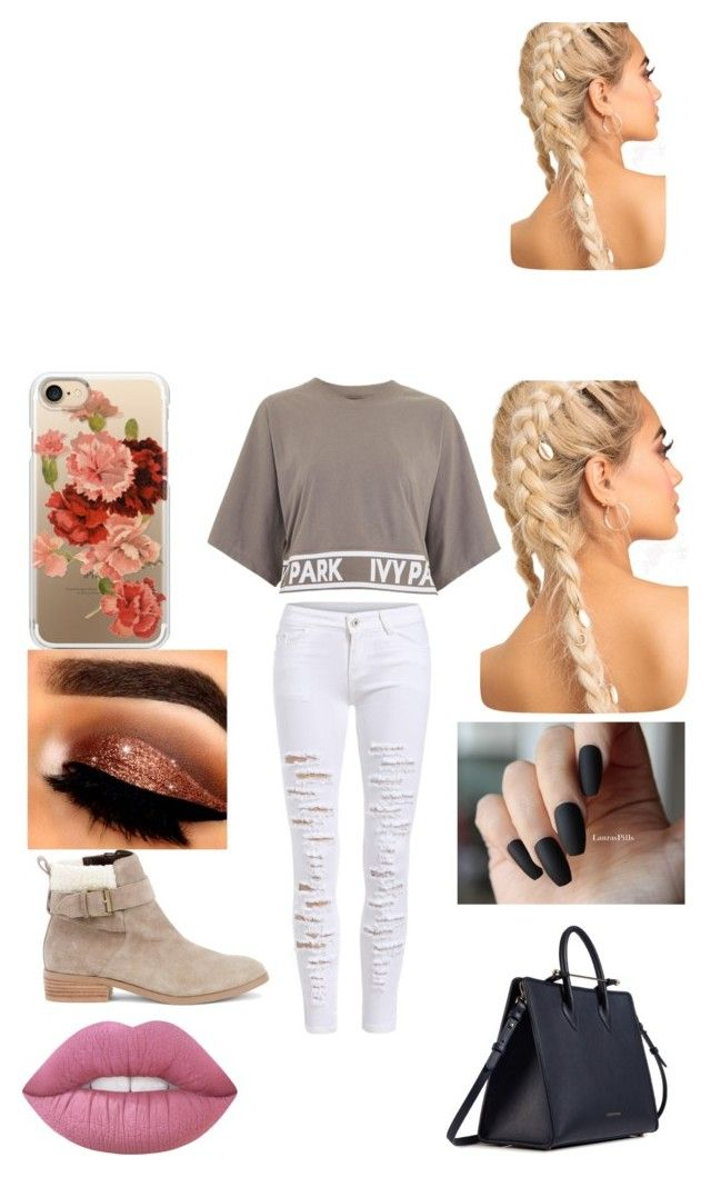 """""""Sans titre #41"""" by audree-bellefleur on Polyvore featuring mode, Ivy Park, Sole Society, Strathberry et Casetify"""