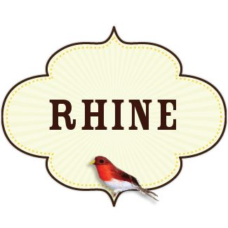 I am reading a book and the main character's name is Rhine and I thought the author must be very creative to come up with such a pretty name