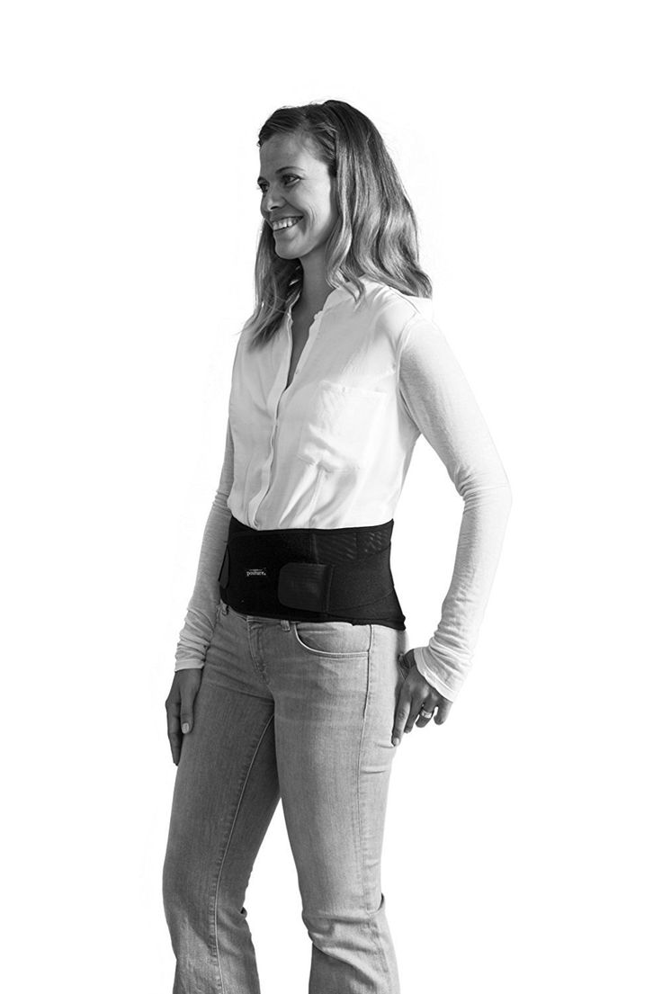 Swedish Posture Stabilize Lower Back Support Belt: Guarantees lumbar support and stability for the lower back with thermo therapy. Designed for stress and tensi