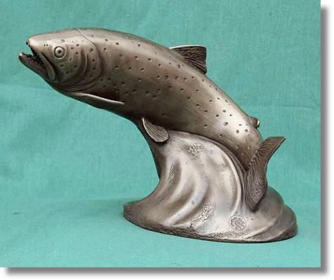 17 best images about fish figures on pinterest ceramics for Clay koi fish