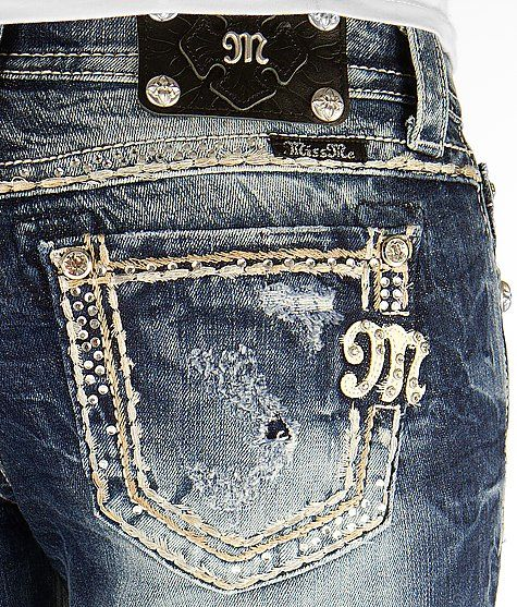 Miss Me Rhinestone Easy Boot Stretch Jean - this is the pair I bought and I LOVE them so much!!