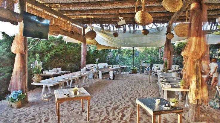 Beso beach formentera chiringuito pinterest blog for Beach bar design