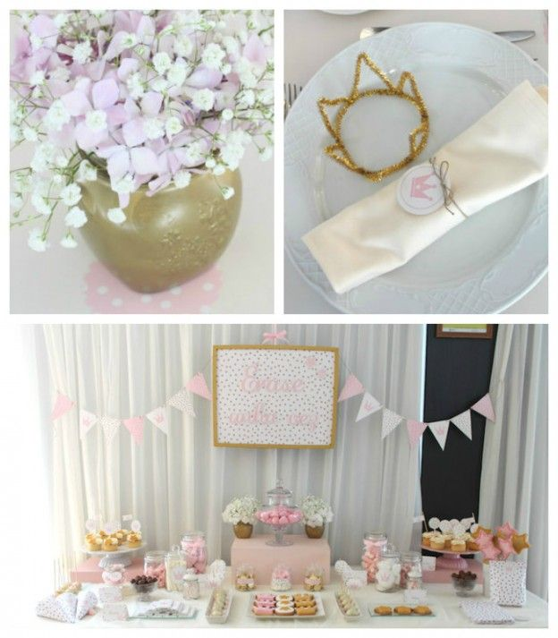 Once Upon A Time Princess Birthday Party via Kara's Party Ideas KarasPartyIdeas.com The Place for All Things Party! #princess #princessparty #onceuponatime #princesspartyideas #princessdecor (2)