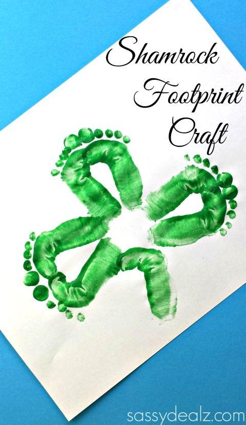 shamrock footprint craft