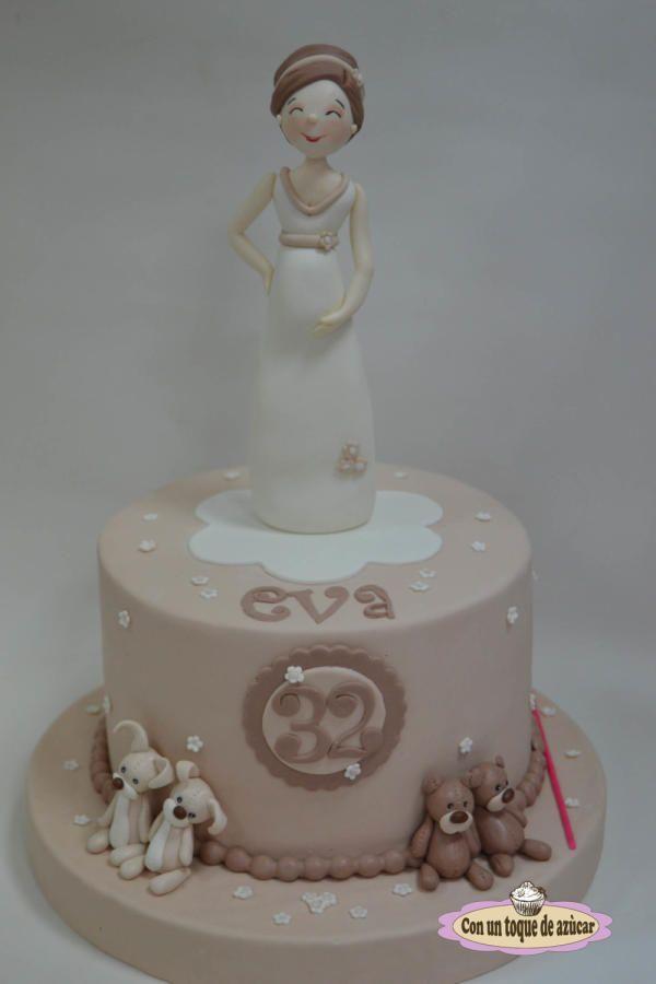Pregnant cake - Cake by Con un toque de azúcar - Georgi