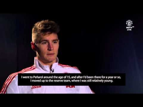 Following Diego Forlan: Guillermo Varela tells his life story from Peñarol to Manchester United (Video)