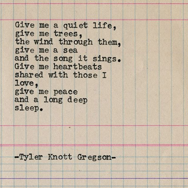 "2,527 Likes, 33 Comments - Tyler Knott Gregson (@tylerknott) on Instagram: ""Typewriter Series #1812 by Tyler Knott Gregson ... *Pre-order my new book, Wildly Into The Dark,…"""