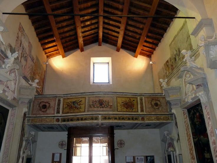 il palco completamente ristrutturato della Chiesa di San Giorgio