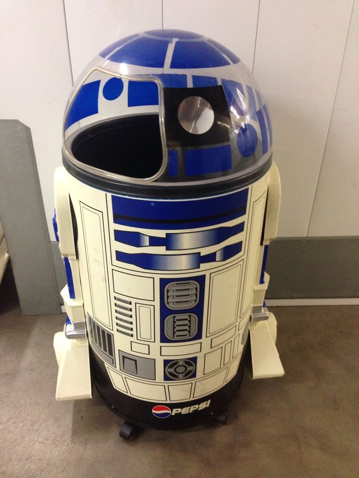 r2d2 star wars pepsi cooler quotthe iceman coolerquot by paul