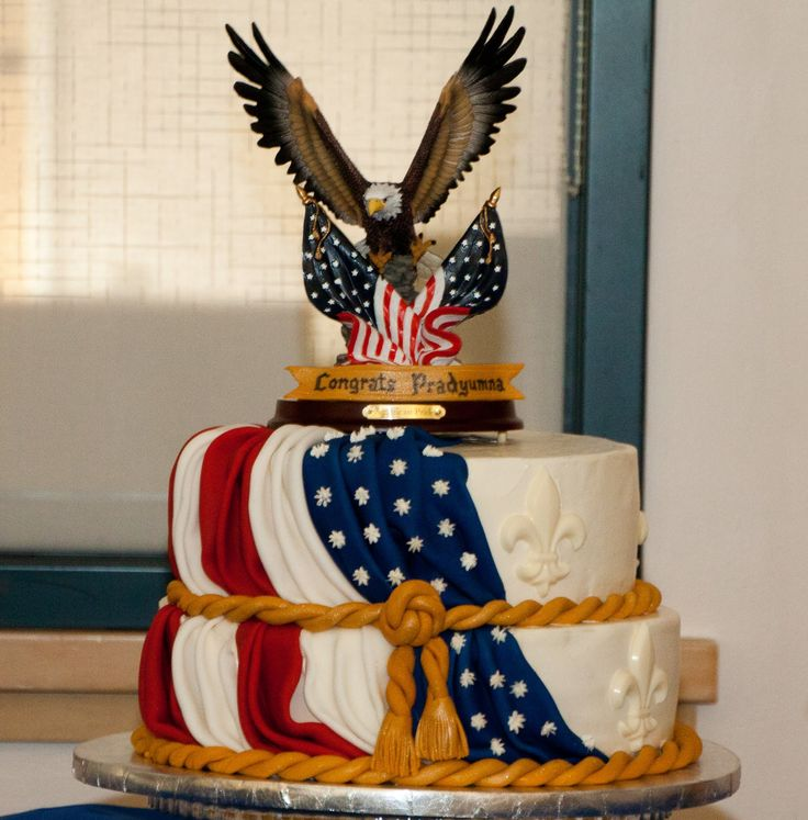 Great Eagle Court of Honor | Eagle Court of Honor cake | Baked In Heaven