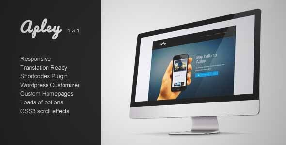 Download and review of Apley - A Mobile Application Landing Page, one of the best Themeforest Technology themes {Download & review at|Review and download at} {|-> }http://best-wordpress-theme.net/apley-a-mobile-application-landing-page-download-review/