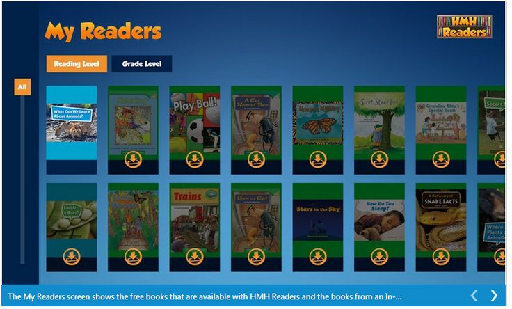 Reading on a device is engaging, and promotes more independent reading in students. The HMH Readers app on Windows 8 provides access to interesting non-fiction and fiction selections leveled by literacy experts to support your education efforts with young readers. Try over 30 free readers today: http://aka.ms/Sgyafq