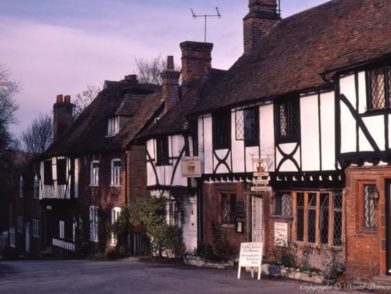 Chilham, Kent. Village is the set of Miss Marple