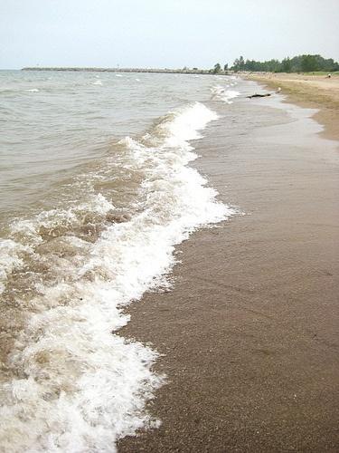 Beach in Angola, NY