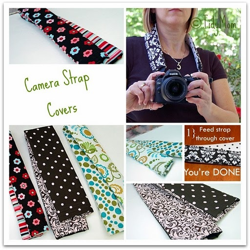 DIY camera strap cover tutorial. I would love to make a couple of these for my camera. I love my camera. :0)