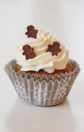 * * * * Så gott som * * * * : Månadens sötsak - Pepparkaksmuffins