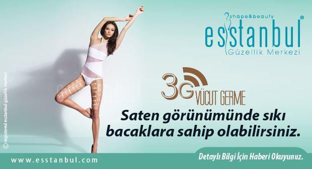 3G Vücut Germe Ameliyatsız Vücut Germe İşlemidir.