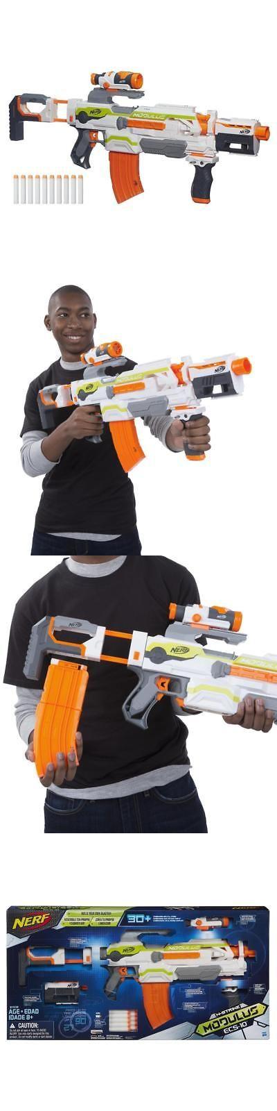 Dart Guns and Soft Darts 158749: Nerf N-Strike Modulus Ecs-10 Blaster -> BUY IT NOW ONLY: $49.99 on eBay!