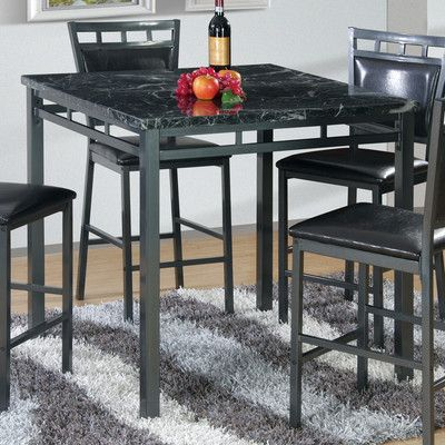 Best Quality Furniture Counter Height Dining Table