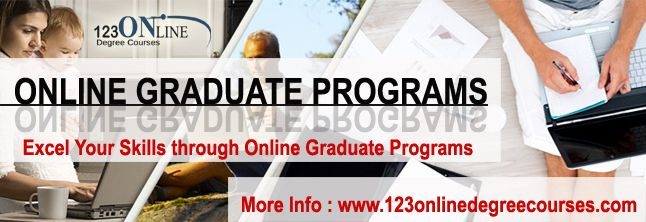 Excel Your Skills through Online Graduate Programs Graduate programs open various opportunities for students and professionals along with showing way towards developing more skills with master programs; find here about some online graduate programs.