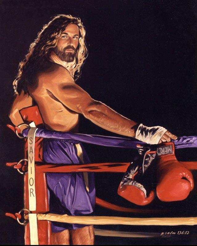 jesus arte boxeador
