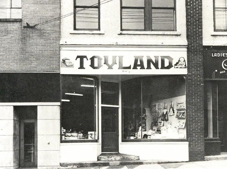 Toyland_Glace Bay_Cape Breton_Nova Scotia_1957 http://CaperMemories.Com