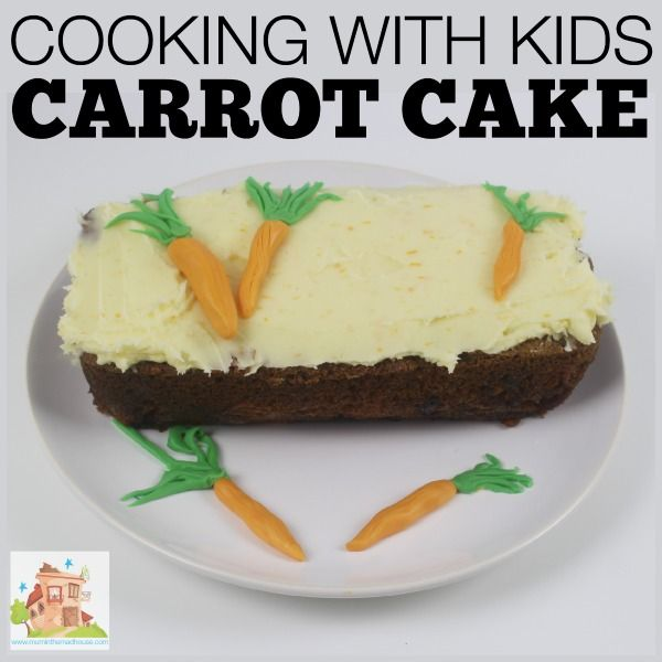 cooking with kids: carrot cake *yum