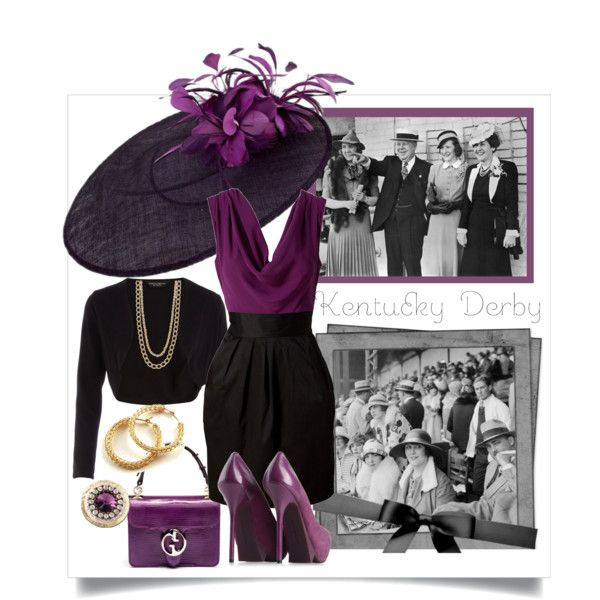 kentucky derby, created by funnyjello on Polyvore: Style, Derby Fashions, Kentucky Derby Outfit, Derby Hats, Party, Dream Wardrobe 3, Derby Outfits, Fabulous Outfit, Derby Attire