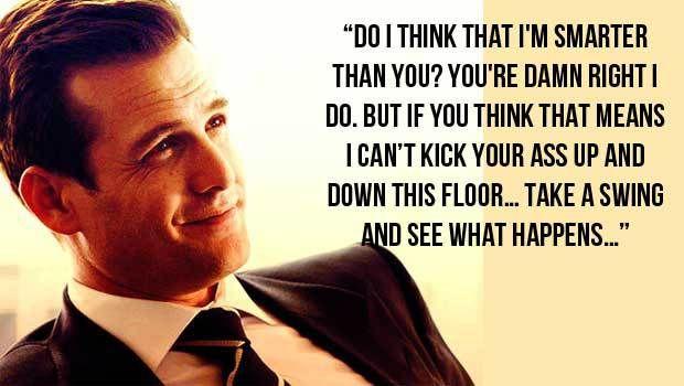 Αγαπημένη Harvey Specter Quote