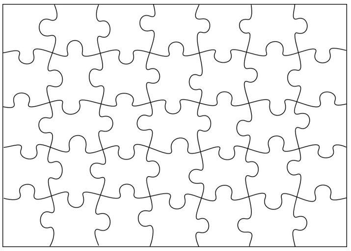 Schrijf voor elk groepje een gedicht op dit lege puzzel vel. Knip de stukjes los en stop dit in een envelop. Per groepje moeten de kinderen lezen en puzzelen. Welk groepje is het eerst klaar? Of laat de groepjes zelf een gedicht bedenken en opschrijven voor een ander groepje.  Ook leuk te gebruiken als Sint activiteit. Bijv. i.p.v. gedichten kun je ook Sint liedjes gebruiken.