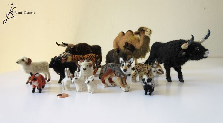 Visit my Etsy shop KernertJuergeneering to discover an ever growing range of needle-felted miniature animals in scale 1:18! https://www.etsy.com/shop/KernertJuergeneering?section_id=17135517&ref=shopsection_leftnav_2