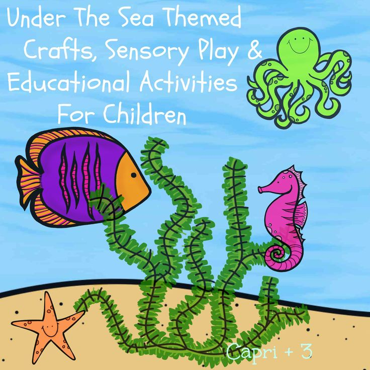 17 best images about classroom beach on pinterest shark for Educational crafts for toddlers