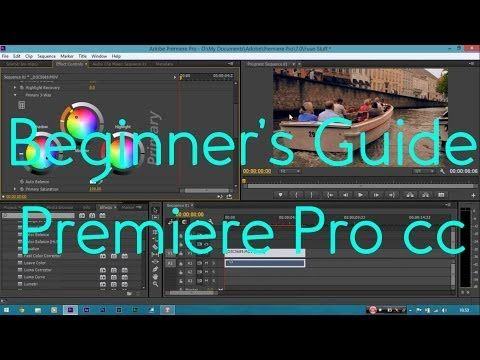 Beginner Video Editing Tutorial | Adobe Premiere Pro CC | - YouTube