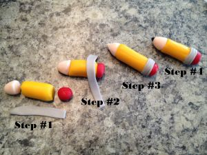 fondant pencil how to
