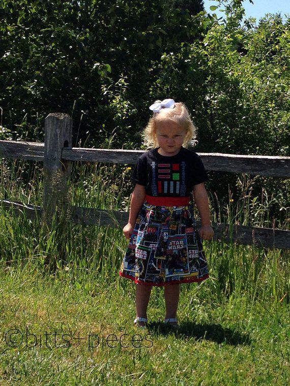 Darth Vader t-shirt dress by shopbittsandpieces on Etsy