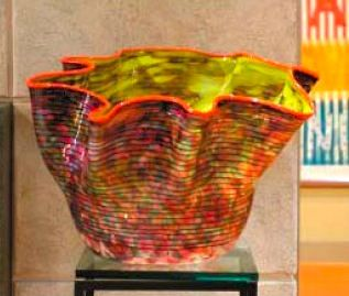 This Is A Chihuly That Was On The Frasier Set Interior Design In 2019 Glass Art Dale