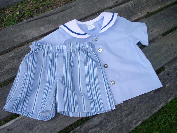 Size 1 Boys Sailor Shirt and Pants set with silver buttons. For the Lads Market Night opens at 9pm, on Tuesday 3rd June, 2014. The first person to comment sold will be able to purchase the item direct from the business listed on the item.