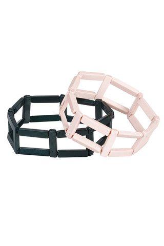 Marimekko Lato Bracelets Green/Powder   Kiitos Marimekko