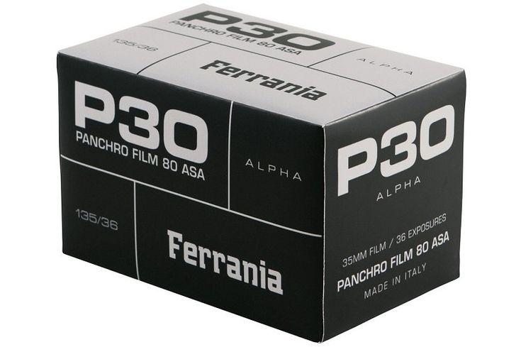 意大利菲林老牌 Ferrania 重新推出經典黑白菲林 P30