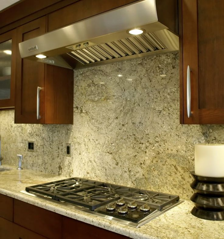 Granite Backsplash Cupboards