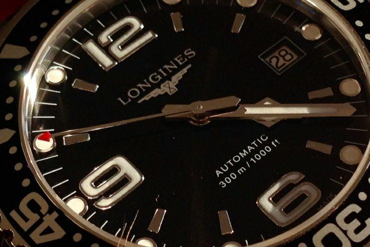 [Vends] Longines Hydroconquest Noire 41mm
