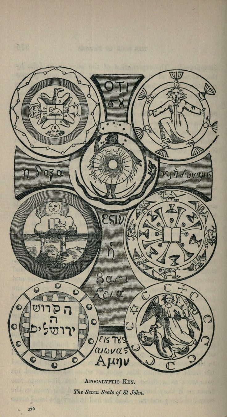 Eliphas Levi | Transcendental Magic: Its Doctrine and Ritual | The Seven Seals of St. John (1896)