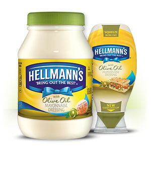 Hellmann's® - Mayonnaise Dressing with Olive Oil -Great Hellmann's® taste blended with real Olive Oil