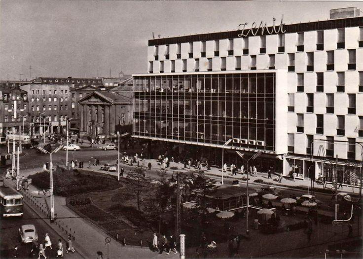Spółdzielczy Dom Handlowy ZENIT w Katowicach, 1958 - 1962, arch. Mieczysław Król, Jurand Jurecki