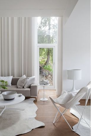 White Living Room... peaceful