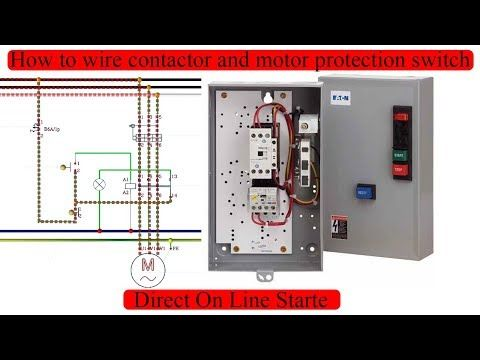 Wire Contactor Control Diagram on