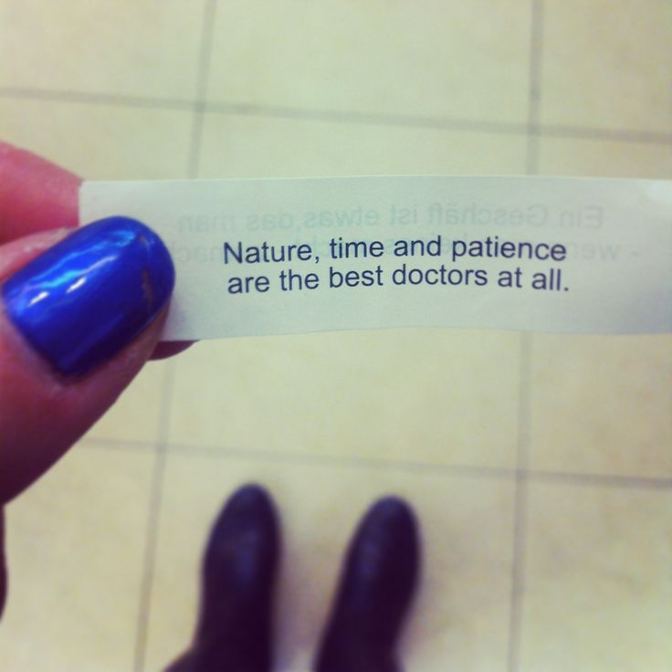 Nature, time and patience. that's all you need